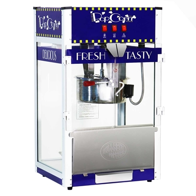 Picture of 71457-Popcorn machine of 16oz. tabletop BLUE